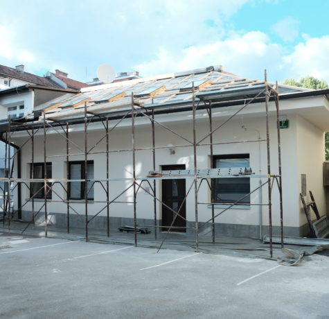 Prenova hiše v centru mesta